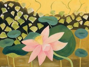 Lotus Flower, 1984 by Marie Hugo