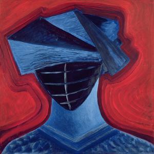 Masque III, 1991 by Marie Hugo