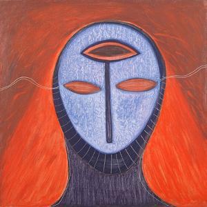 Masque V, 1991 by Marie Hugo
