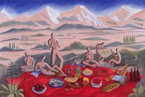 The Picnic, 1992 by Marie Hugo