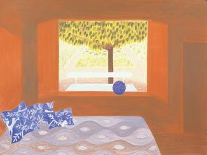 The Studio Window, 1987 by Marie Hugo