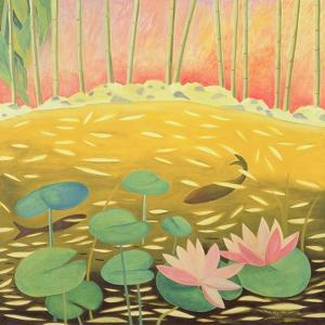 Water Lily Pond III, 1994 by Marie Hugo