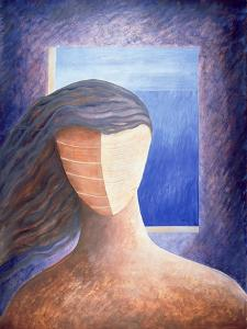 Zoe a La Fenetre, 1994 by Marie Hugo