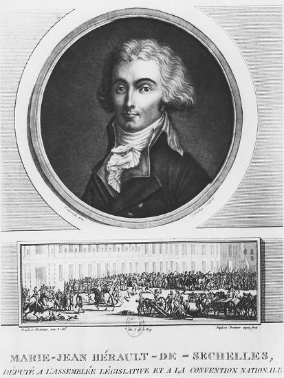 Marie-Jean Hérault De Séchelles-Charles Francois Gabriel Levachez-Giclee Print