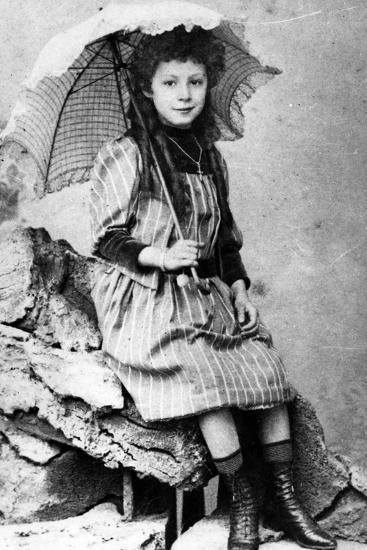 Marie Laurençin as a Child, C.1903--Photographic Print