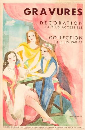 Gavures, Décoration, Collection