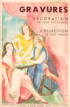 Gavures, Décoration, Collection by Marie Laurencin