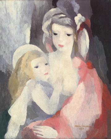Mother and Child by Marie Laurencin