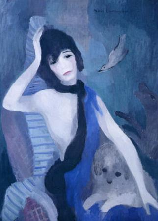 Portrait de Mademoiselle Channel by Marie Laurencin