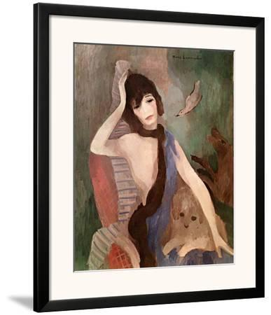 Portrait of Mlle. Chanel by Marie Laurencin