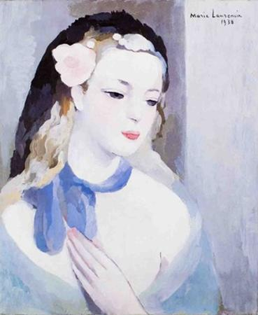 The Blue Ribbon by Marie Laurencin