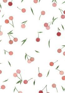 Cherry Print by Marie Lawyer