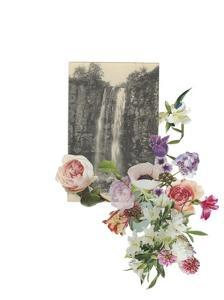 Floral Waterfall by Marie Lawyer