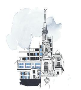 Park Street Church; Boston, MA by Marie Lawyer