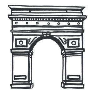 Washington Square Arch by Marie Lawyer