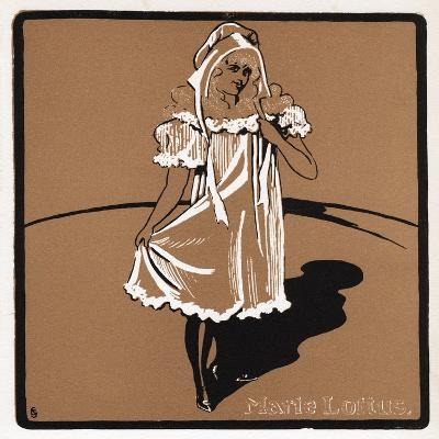 Marie Loftus (1857-194), Scottish Music Hall Star, Late 19th Century--Giclee Print