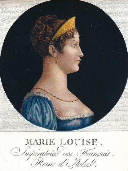 Marie Louise, Empress of the French, Queen Consort of Italy', c19th century (1912)-Unknown-Giclee Print