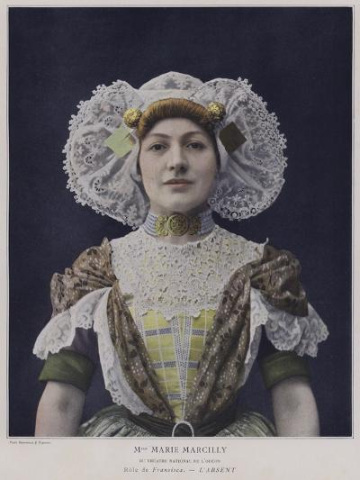 Marie Marcilly as Francisca in L'Absent--Photographic Print