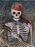 A Pirate and Her Pistol-Marie Marfia-Mounted Giclee Print
