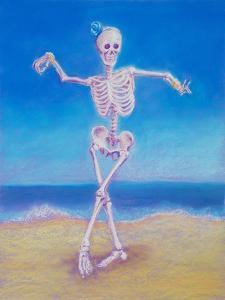 Skelly Dancer I by Marie Marfia