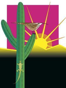 Cactus Wren by Marie Sansone