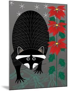 Raccoon Xmas by Marie Sansone