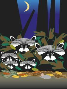 Raccoons by Marie Sansone