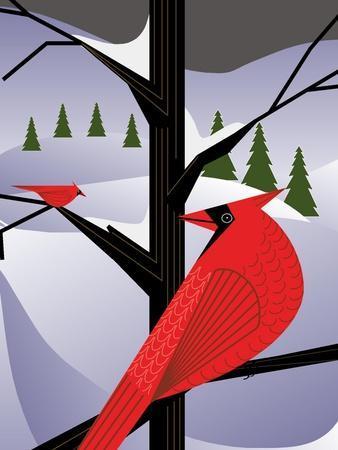 Xmas Cardinals