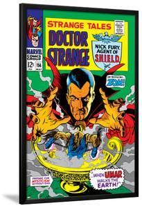 Strange Tales No.156 Cover: Dr. Strange by Marie Severin