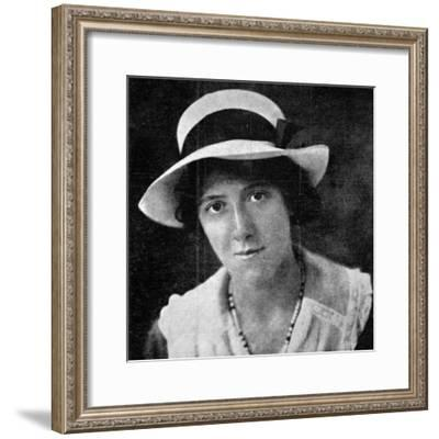 Marie Stopes--Framed Photographic Print
