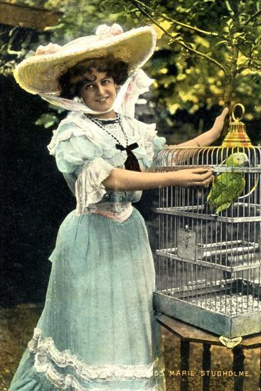 Marie Studholme (1872-193), English Actress, 1904--Giclee Print