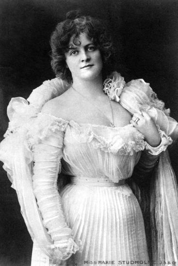 Marie Studholme (1875-193), English Actress, 1900s-W&d Downey-Giclee Print