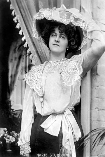 Marie Studholme (1875-193), English Actress, 1900s--Giclee Print