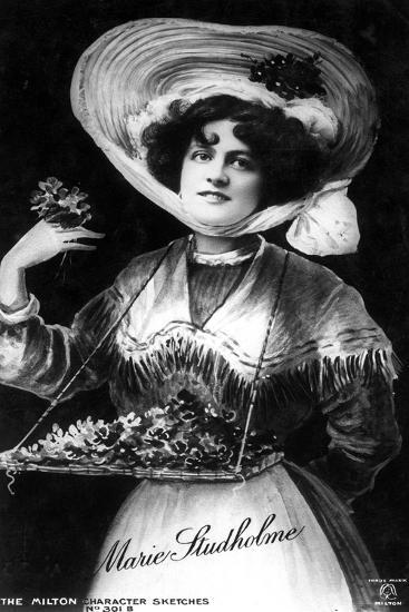 Marie Studholme (1875-193), English Actress, 1906--Giclee Print
