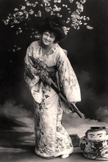 Marie Studholme (1875-193), English Actress, 20th Century-Foulsham and Banfield-Giclee Print