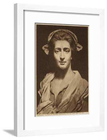 Marie Tussaud, French Artist and Wax Sculptor--Framed Giclee Print