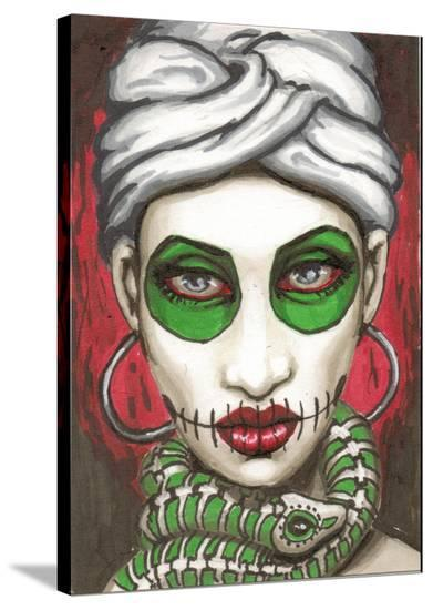Marie- Shayne of the Dead-Stretched Canvas Print