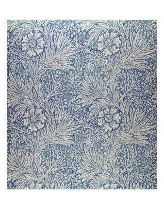 Marigold' Wallpaper Design, 1875-William Morris-Premium Giclee Print