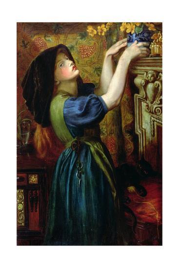 Marigolds, 1874-Dante Gabriel Rossetti-Giclee Print