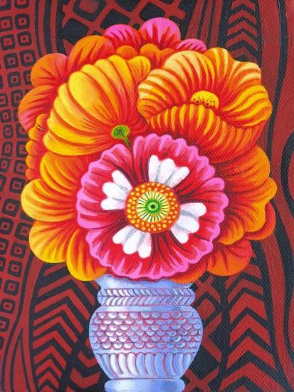 Marigolds, 2014-Jane Tattersfield-Giclee Print