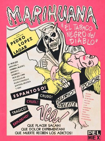 Marihuana, (aka Marihuana Story), Mexican poster art, 1950--Art Print