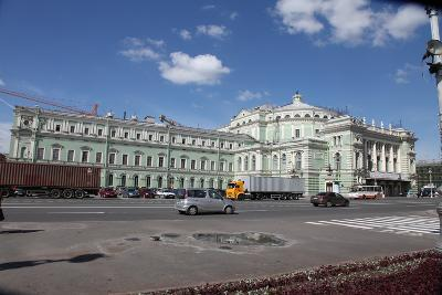 Mariinsky Theatre, St Petersburg, Russia, 2011-Sheldon Marshall-Photographic Print