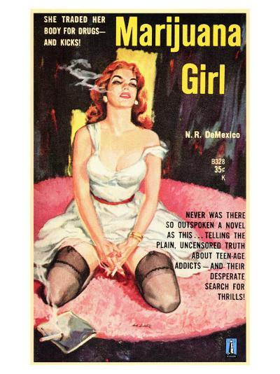 Marijuana Girl, 1969--Art Print