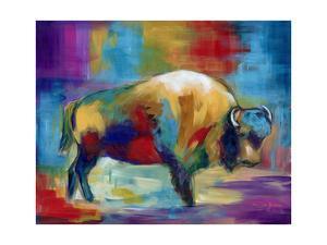 American Buffalo by Marilyn Dunlap