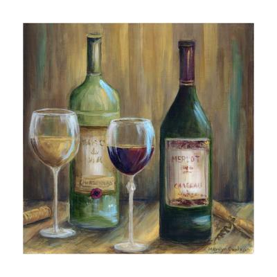 Bottle of Red Bottle of White