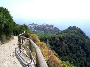 Cinque Terre Corniglia From the Trail by Marilyn Dunlap