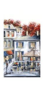 French Cafe by Marilyn Dunlap