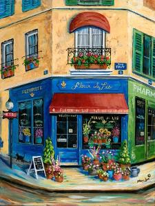 French Flower Shop by Marilyn Dunlap