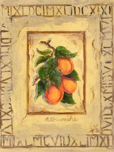 Italian Fruit Apricots by Marilyn Dunlap