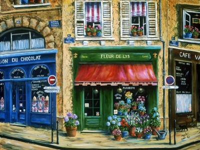 Le Fleuriste by Marilyn Dunlap